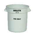 BRUTE ICE ONLY CNTNR 10GL WHI 6/CTN