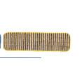 MICROFIBER SCRUB PAD 18X5 YEL/BLU 6