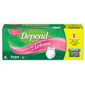 Depend Large Extra Absorbency Underwear for Women - 72 Count