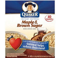 Instant Oatmeal Maple Brown Sugar - 40ct