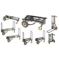 CONVRTBL HAND TRUCK  6-IN-1 CPCTY 2 WHEELS 2 CSTRS