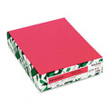 Astrobrights Colored Card Stock, 65 lbs., 8-1/2 x 11, Plasma Pink, 250 Sheets