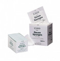 Caring Woven Sterile Gauze Sponges 100/BX