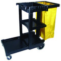 HC Rubbermaid Commercial Multi-Shelf Cleaning Cart