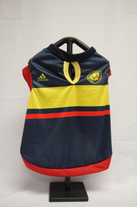 Blue colombian soccer jersey for dogs and cats