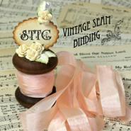 Vintage Seam Binding - Grecian Pink