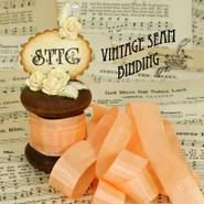 Vintage Seam Binding - Peach