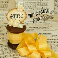 Vintage Seam Binding - Goldenrod