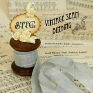 Vintage Seam Binding - Nickel Grey