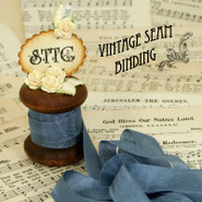 Vintage Seam Binding - Dusk Blue