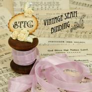 Vintage Seam Binding - Violet