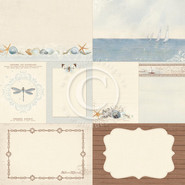 Pion Design - Shoreline Treasures - 12x12 Memory Notes Paper - I