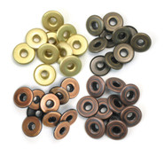 "We R Memory Keepers - Eyelets - Wide - Metal ""Warm"""