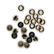 We R Memory Keepers - Eyelets & Washers - Brass