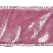 "C'est Joli! - Crushed Velvet - 1 Yard - 7/8"" - Pink"