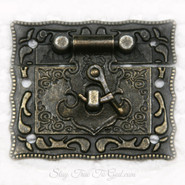 Metal Latch - Vintage - Bronze Tone