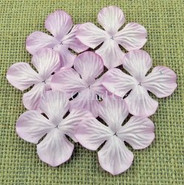 "WOC - Hydrangea Blooms - 25mm (1"") - Rose Pink - 10 pack"