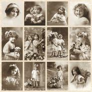 Pion Design - From Grandma's Attic - 12x12 Paper - Little Sweeties