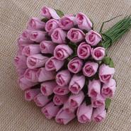 "WOC - Rosebuds - 4mm (1/8"") - Baby Pink - 10 pack"
