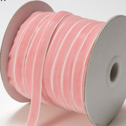 "May Arts Ribbon - Velvet Ribbon - 1 Yard - 3/8"" - Pink"