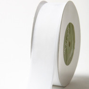 "May Arts Ribbon - Velvet Ribbon - 1 Yard - 1-1/2"" - White"