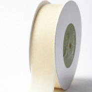 "May Arts Ribbon - Velvet Ribbon - 1 Yard - 1-1/2"" - Cream"