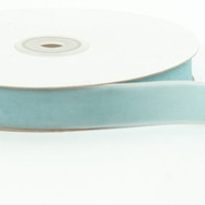 "May Arts Ribbon - Velvet Ribbon - 1 Yard - 3/4"" - Light Blue"