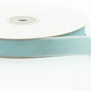 "May Arts Ribbon - Velvet Ribbon - 1 Yard - 3/4"" - Light Blue"