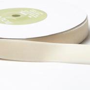 "May Arts Ribbon - Velvet Ribbon - 1 Yard - 3/4"" - Ivory"