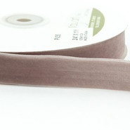 "May Arts Ribbon - Velvet Ribbon - 1 Yard - 3/4"" - Pewter"