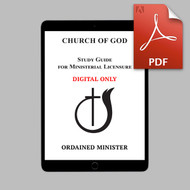 Ordained Minister DIGITAL Study Guide (PDF)