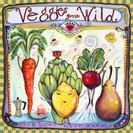 Veggies Gone Wile Tile Trivet