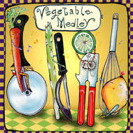 Vegetable Medley Tile Trivet