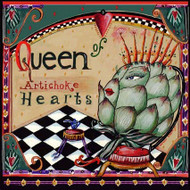 Queen of Artichoke Hearts Tile Trivet