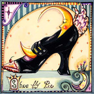 Shoe Fly Pie Tile Trivet