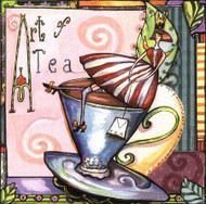 Art of Tea Tile Trivet
