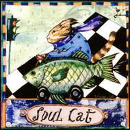 Soul Cat Tile Trivet