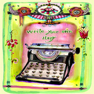Write Your Own Story Tile Trivet