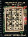 Shoo Fly Surprise small wall quilt pattern design by Liberty Homestead LB06