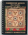 Star Farm small wall quilt pattern design by Liberty Homestead LB15