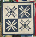 X's & O's small wall quilt design by Liberty Homestead LB02