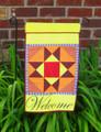 Garden Flag - Welcome