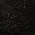 Valdani Perle Cotton #12 solids - 1 Black