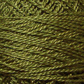 Valdani Perle Cotton #12 solids - 190 Rich Olive Green Medium