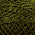 Valdani Perle Cotton #12 solids - 191 Forest Haze