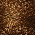 Valdani Perle Cotton #12 solids - 196 Golden Brown