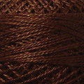 Valdani Perle Cotton #12 solids - 1644 Red Brown Medium Dark