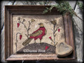 Love Grows punchneedle pattern designer Vermont Harvest Folk Art