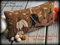 Harvest Thyme in Olde New England punchneedle pattern designer Vermont Harvest Folk Art