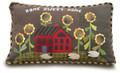 Sunflower Garden pillow pattern 230 Geoff's Mom